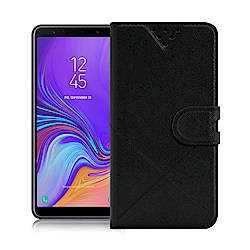 NISDA for Samsung Galaxy A70 風格磨砂側翻支架皮套