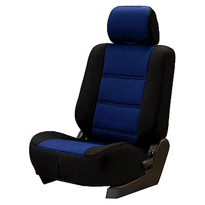【葵花】量身訂做-汽車椅套-日式合成皮-賽車D式-休旅車-9人座款-1+2排