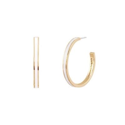 NOONOO FINGER GOLD HOOP 耳環