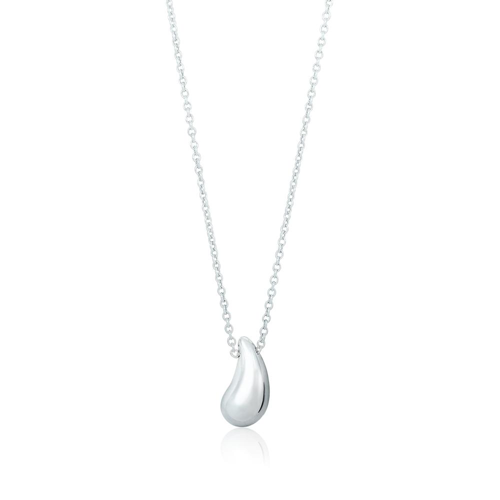 Tiffany&Co. Elsa Peretti Teardrop圓潤水滴純銀項鍊