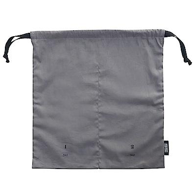 ICONIC 旅行分隔束口袋-衣物-炭灰