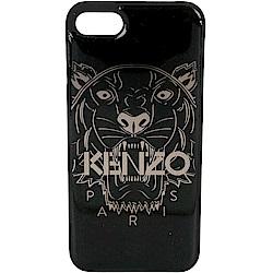 KENZO 3D Tiger iPhone 7 黑色虎頭圖案塑料手機殼(展示品)