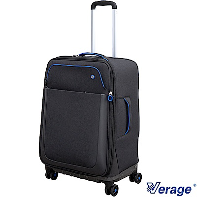 Verage ~維麗杰 24吋悠活行者系列行李箱  (黑)