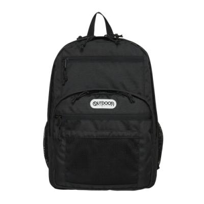【OUTDOOR】率性學院-後背包-黑色 OD291102BK