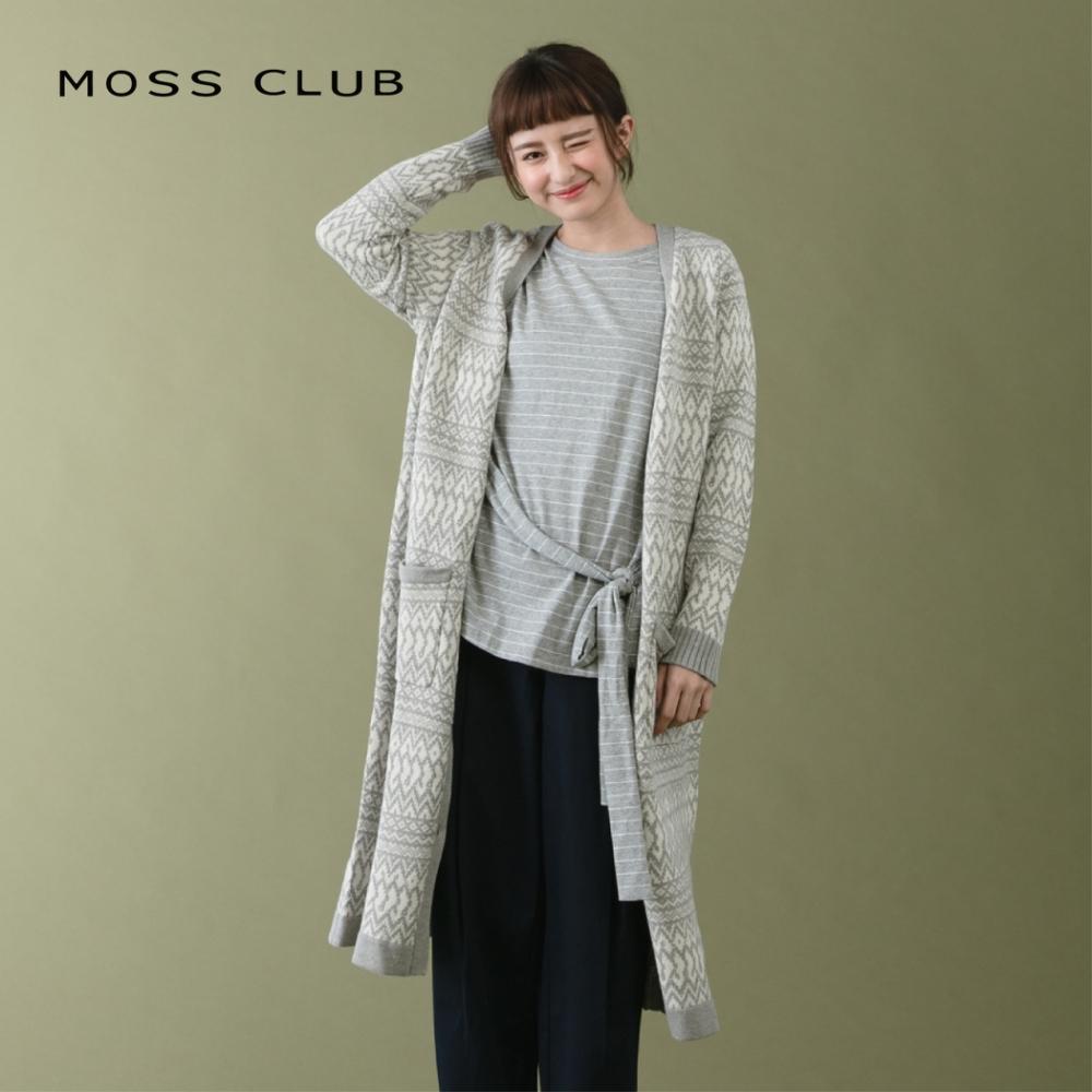 新降【MOSS CLUB】波希米亞風-針織衫(三色)