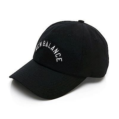 New Balance 經典 Logo文字帽 LAH93004BK 中 黑