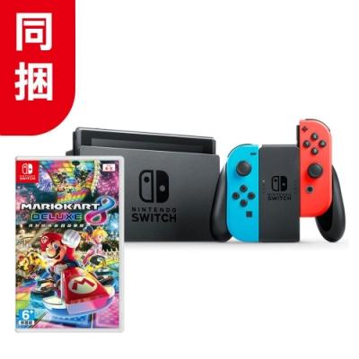 任天堂 Nintendo Switch 主機   瑪利歐賽車8 同捆組