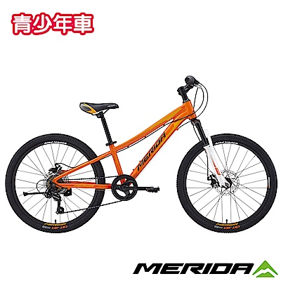 《MERIDA》美利達 學生悠遊自行車/青少年車 達卡624MD 橙 2018