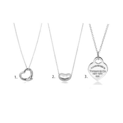 [時時樂限定]Tiffany&Co.經典款925純銀項鍊(3款任選)
