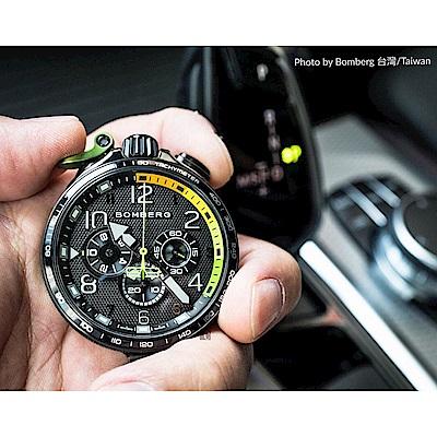 Bomberg炸彈錶 Bolt-68 Racing 賽車計時碼表-45mm