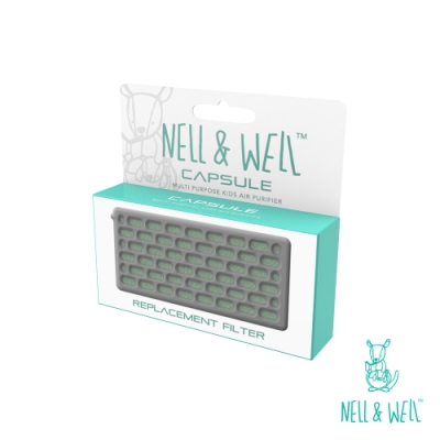 【馬來西亞NELL&WELL】嬰兒攜帶型夾式空氣清淨機-濾心