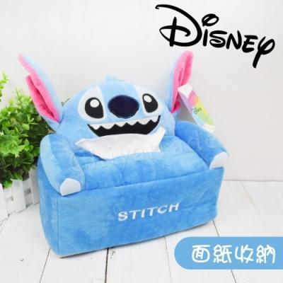 【Disney】史迪奇 超萌沙發立體造型 面紙盒 衛生紙盒 面紙套(正版授權)