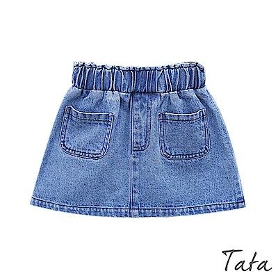 素色牛仔裙 TATA KIDS