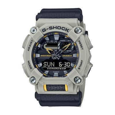 CASIO卡西歐 G-SHOCK 大錶徑 秘境海岸 沉靜灰黑 GA-900HC-5A_49.5mm