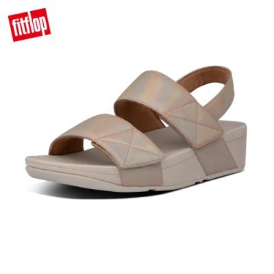 FitFlop MINA IRIDESCENT BACK-STRAP SANDALS後帶涼鞋-女(復古金)