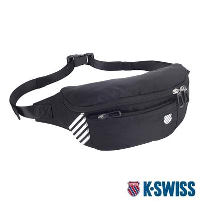 K-SWISS AT FANNY BAG 2運動腰包-黑