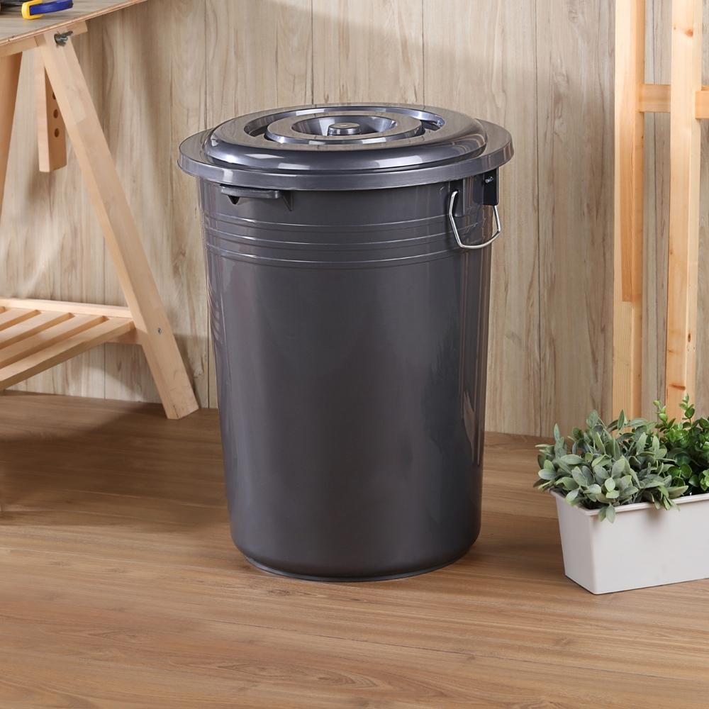 創意達人 KEYWAY銀采儲水萬用收納桶46L-2入組