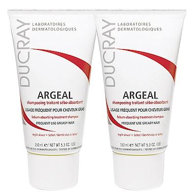 DUCRAY護蕾 鋸棕櫚控油洗髮霜150ml(2入下殺組)