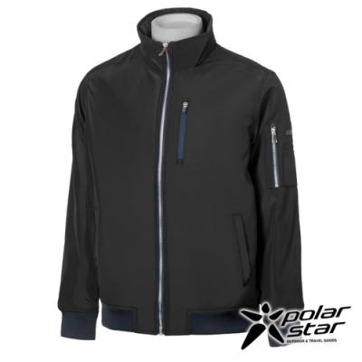 【PolarStar】中性 防風保暖飛行外套『黑』P20217