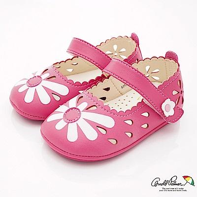 雨傘牌 專櫃小花洞洞娃娃鞋款 EI73230桃(小童段)