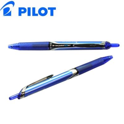 日本 PILOT 百樂 水性按鍵式鋼珠筆-12支(BX-RT-V7)