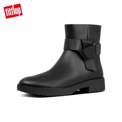 FitFlop KNOT ANKLE BOOTS 踝靴 靚黑色