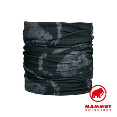 【Mammut 長毛象】Mammut Neck Gaiter 防曬快乾頭巾 黑/幻影黑 #1191-05815