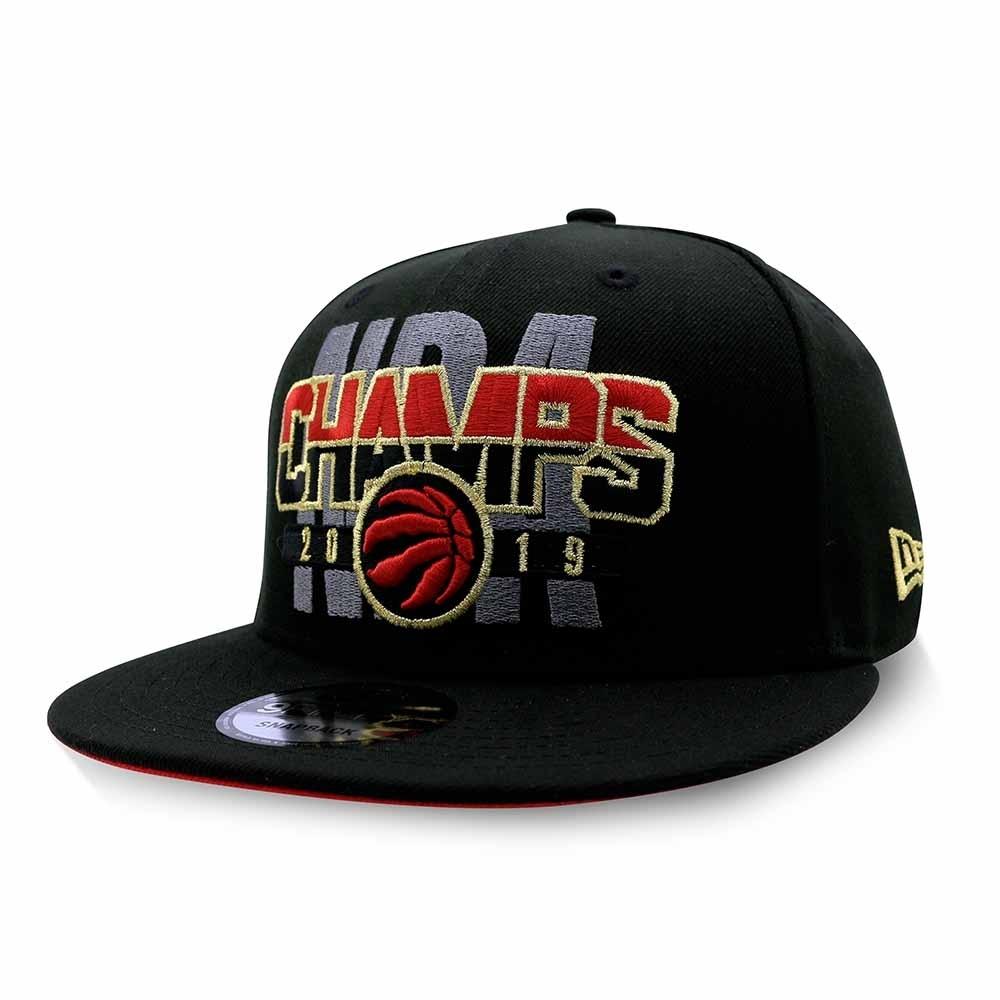 New Era 9FIFTY NBA 2019總冠軍帽 棒球帽 紅黑字體 暴龍隊
