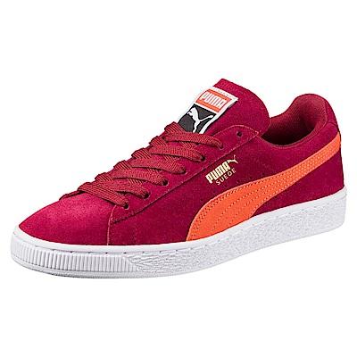 PUMA-SuedeClassic+復古籃球鞋-西藏紅