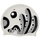 聖手牌 兒童泳帽 章魚造型矽膠泳帽(灰色)