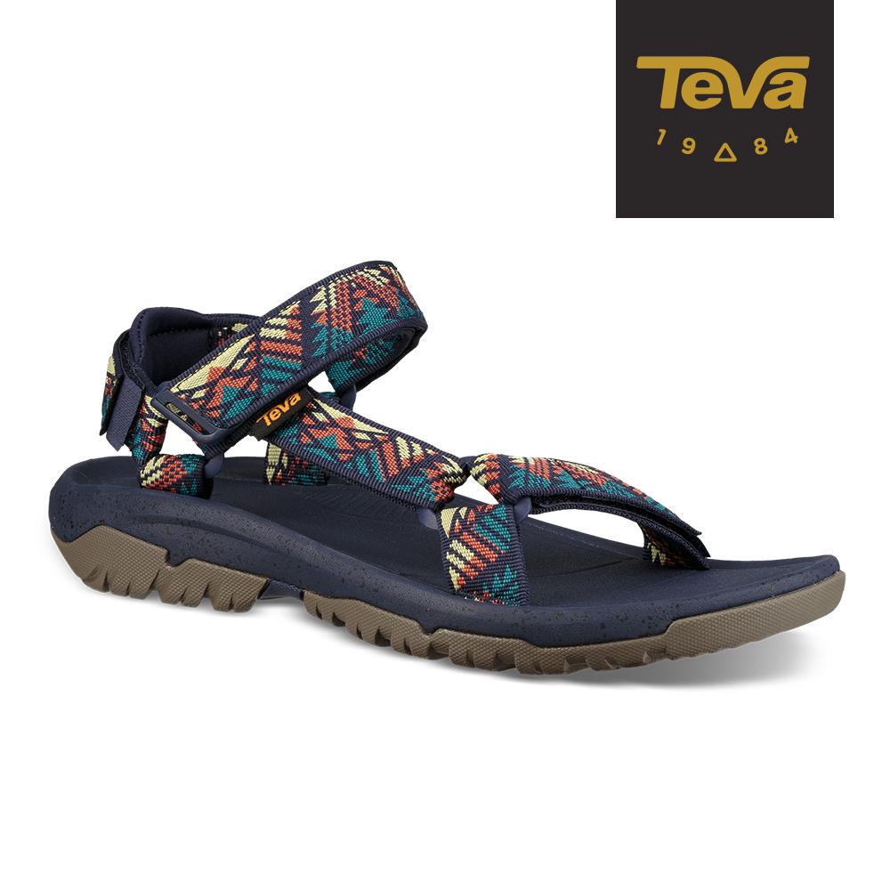 【TEVA】原廠貨 男 Hurricane XLT2 機能運動涼鞋/雨鞋/水鞋(GC100圖騰-TV1019234GBRN)