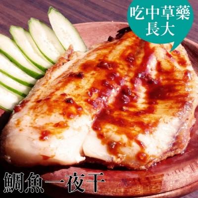 台江漁人港‧鯛魚一夜干(去刺)(300g/包,共2包)