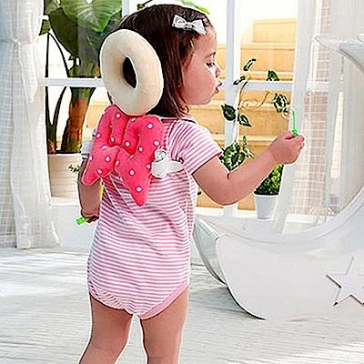 親親寶貝 頂級棉柔Q彈嬰兒護頭枕/護頸枕_寶寶學步防撞安全守護