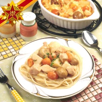 任選-五星御廚養身宴 法式奶油磨菇雞