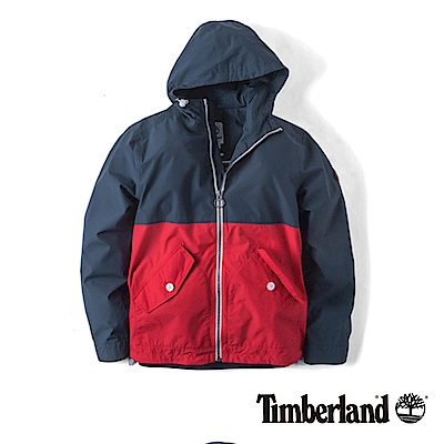 Timberland 男款暗藍色防水科技外套