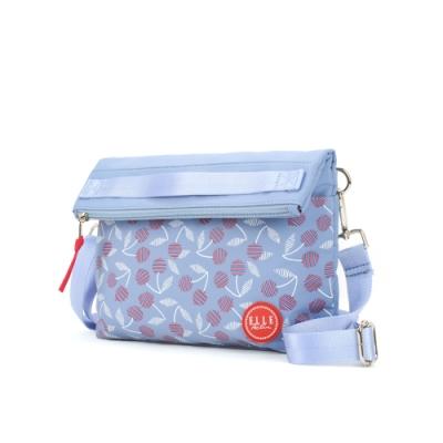 ELLE Active 法式櫻桃系列-輕薄側背包/斜背包-深藍色