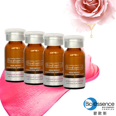 Bio-essence 碧歐斯 極致玫瑰保濕活顏安瓶3MLX4