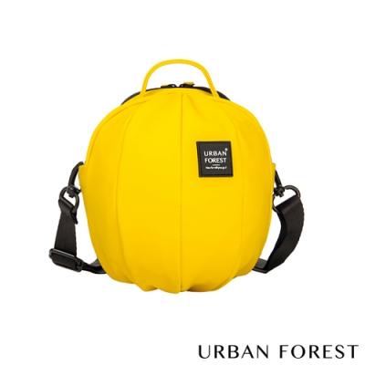 URBAN FOREST都市之森 甲蟲-Skin Touch膚感系列迷你斜背包/斜肩包 檸檬黃