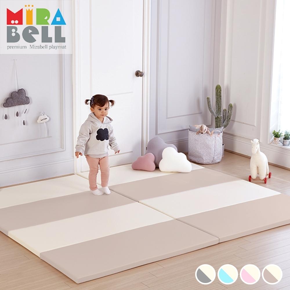 【韓國 MIRABELL】 兒童4cm摺疊地墊-五款任選 (四折折疊地墊/遊戲墊/爬行墊) product image 1