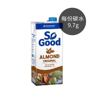 (任選賣場)[澳洲 SO GOOD] 原味杏仁奶1L*2