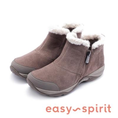 Easy Spirit-seEMBARK 潮流款保暖休閒短靴-絨棕色