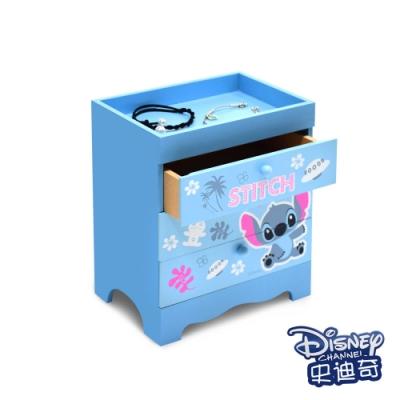 迪士尼Disney 史迪奇 桌上三層收納盒 抽屜盒 置物盒 美妝收納 桌上收納