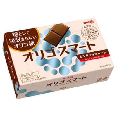 明治 果寡糖代可可脂牛奶巧克力盒裝(65g)