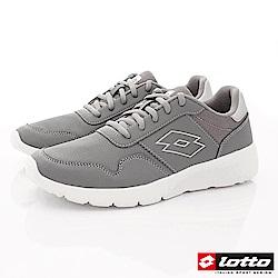 Lotto樂得-極致輕量跑鞋 SE008灰(男段)