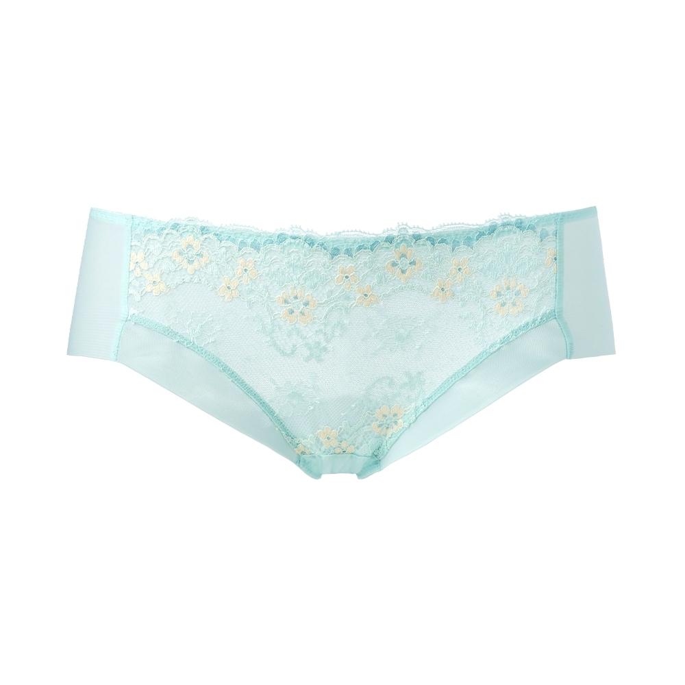黛安芬-豐挺美型系列中腰平口內褲 M-EL 綠