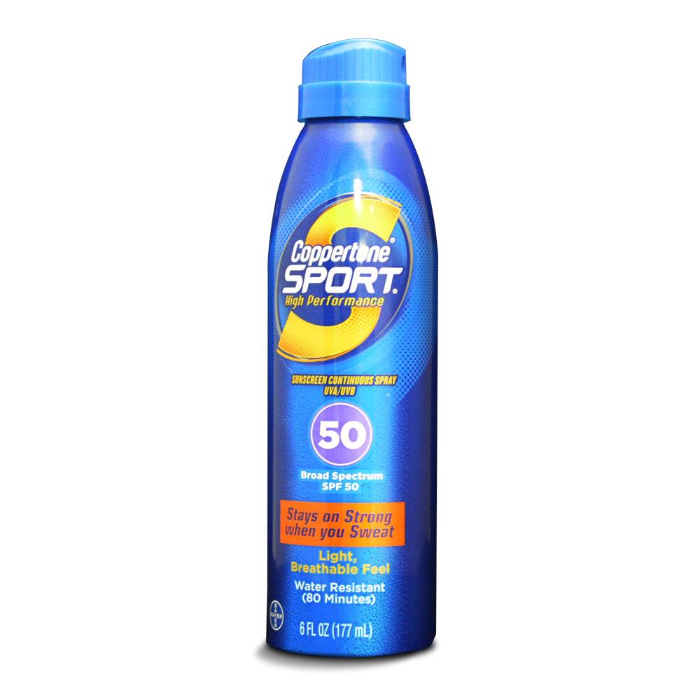 【德國拜耳】確不同 活力藍運動長效型防曬噴霧(177ml/罐)-SPF 50 PA+++