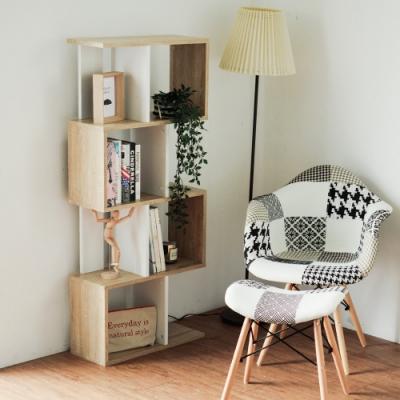 [時時樂限定] 完美主義 設計款四層書櫃/置物櫃/組合櫃(4色)