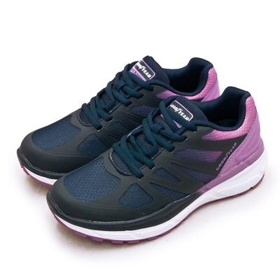 GOODYEAR 專業動能緩震慢跑鞋 K3-ENERGY能量系列 藍紫 92837