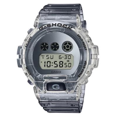 G-SHOCK 80年代復古風透明材質主題休閒錶系列