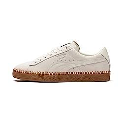 PUMA-Suede Classic BlanketStitch男女籃球鞋-白
